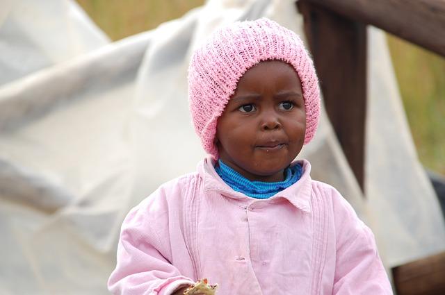 dítě jihoafrická republika