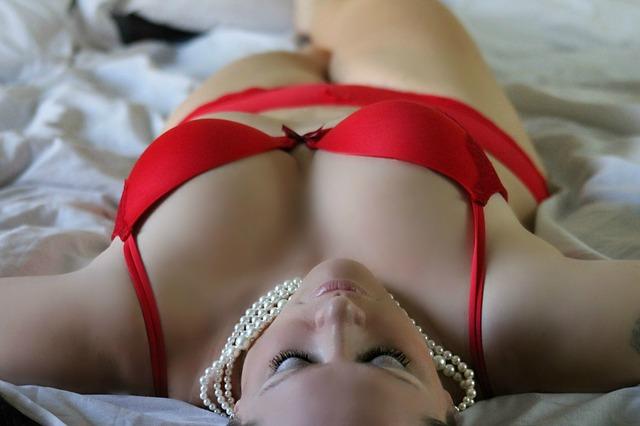 červené prádlo