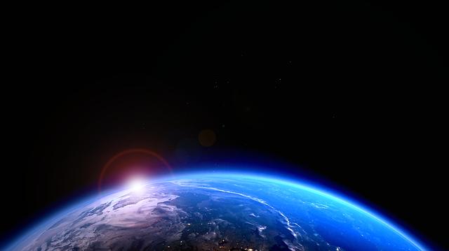 pohled z vesmíru