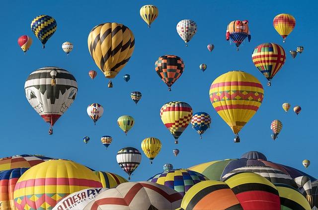 balony barevné