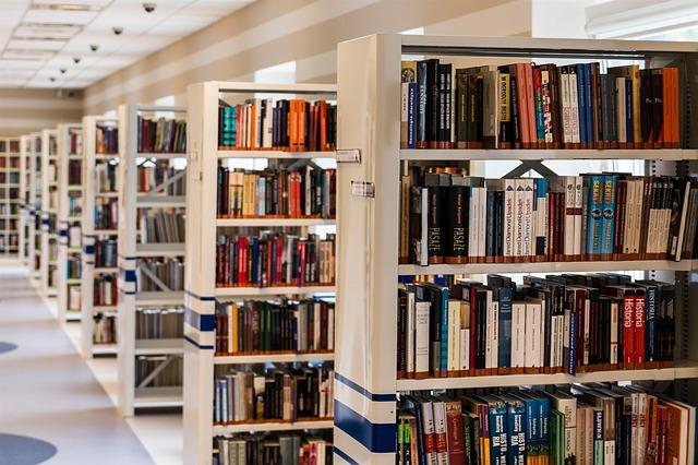 ulička knihovny